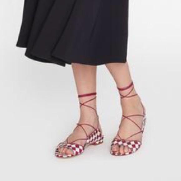 d148523c29f1 LK Bennett sandals Jackie lace up leather.